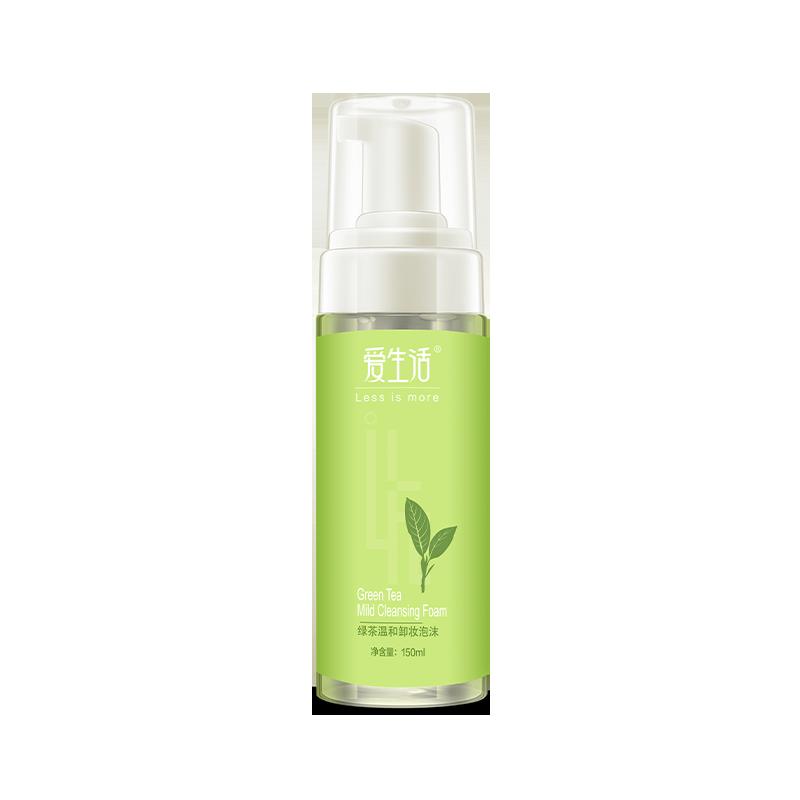 iLiFE Green Tea Mild Cleansing Foam 150ml