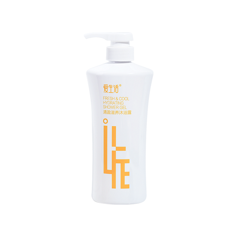 iLiFE Fresh & Cool Hydrating Shower Gel 500ml (20pcs/Ctn)